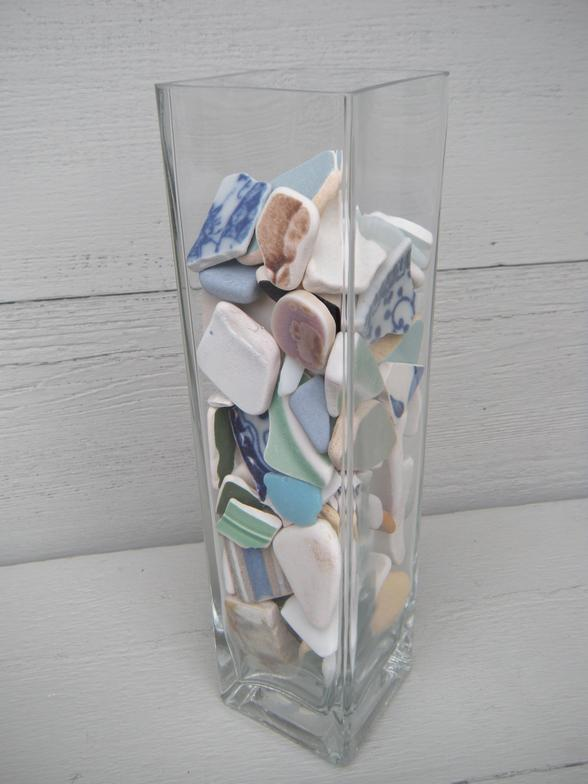 beach, water, sand, glass, glass vase, decor, beach pottery, sea, sea glass, tropical, art, coastal decor, nautical decor, beachcombing, Sturgeon Bay, Wisconsin, Lake Michigan, Michigan, Florida, Florida Keys, Florida Bay, salt water, travel, fun, sun