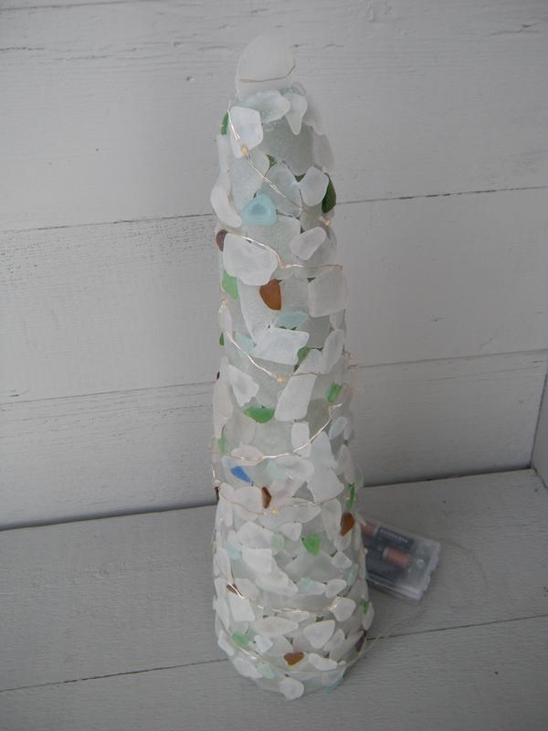 lake michigan beach glass, lake michigan, beach glass, christmas tree, sea glass, wisconsin, michigan, beachcombers,